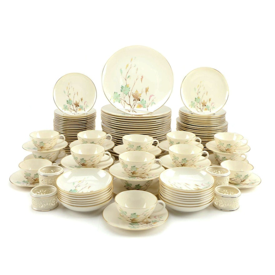 """Lenox """"Westwind"""" Porcelain Dinnerware with Other Table Accessories"""