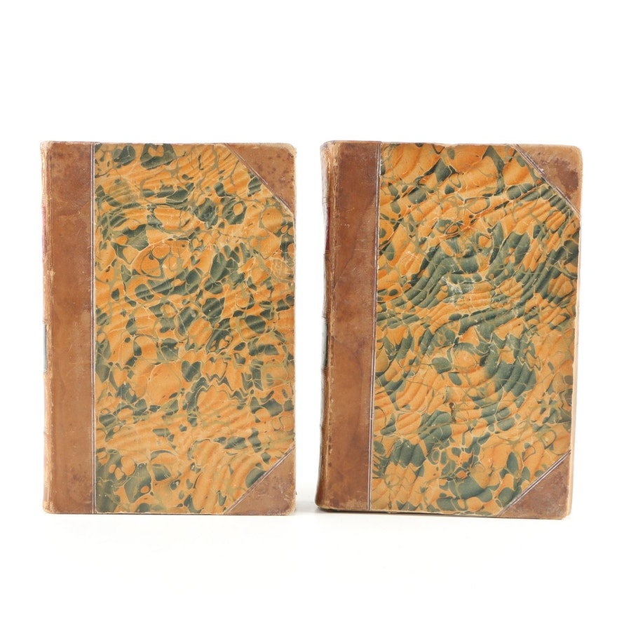 "1854 ""Ten Thousand a Year"" by Samuel Warren, Two Volumes"