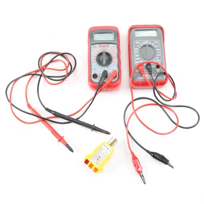 Craftsman Digital Multi-Meters and Ideal Receptacle Tester