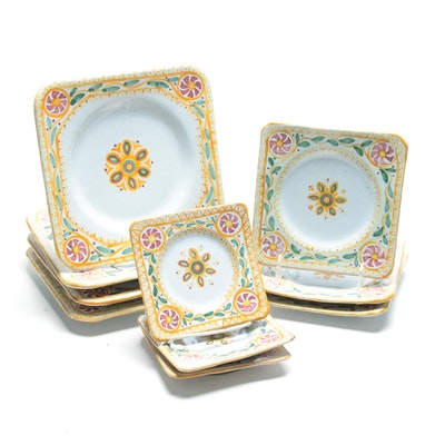 Quimper French Faïence Dinnerware, Circa 1897