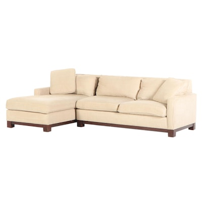 Martha Stewart with Bernhardt Chaise Sectional Sofa