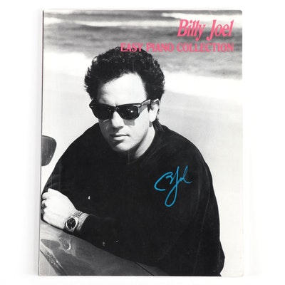 Billy Joel Signed Song Book