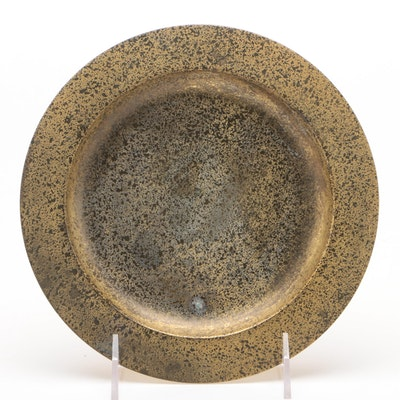 Tiffany Studios Bronze Dore Plate, Early 20th Century
