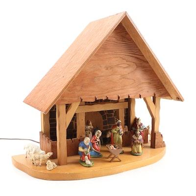 """Reuge """"Silent Night"""" Musical Nativity Scene"""