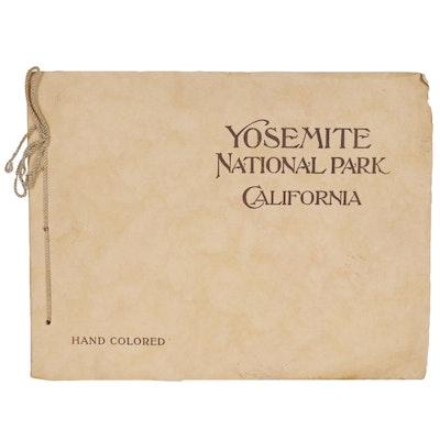 """Yosemite National Park California"" Portfolio of Hand Colored Albertypes, 1905"