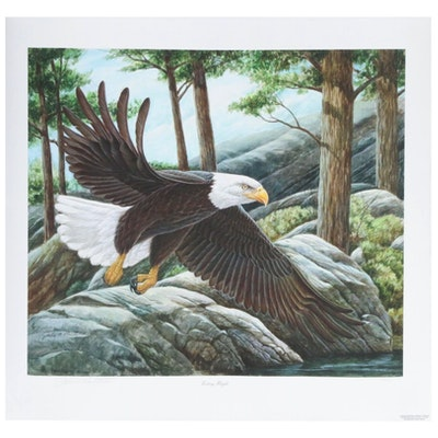 "John A. Ruthven Giclée Print ""Victory Flight,"" 2006"