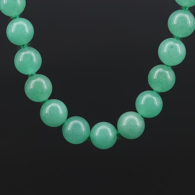 Beaded Aventurine Necklace