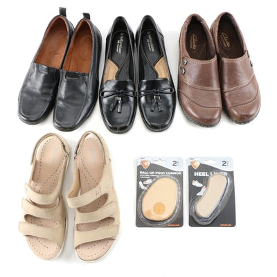 Naturalizer, Clarks and Ecco Loafers, Walking Shoes and Sandals