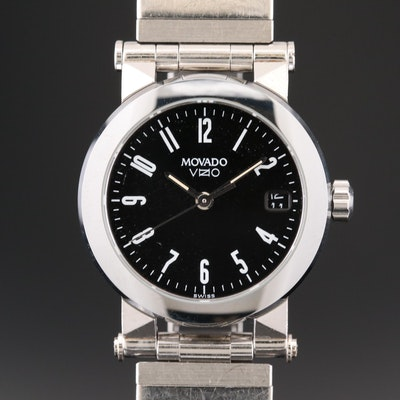 Movado Vizio Stainless Steel Quartz Wristwatch