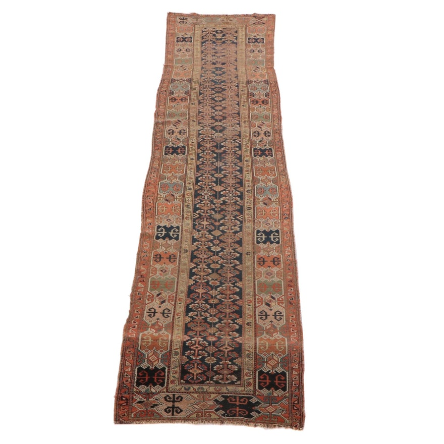 3'9 x 16'5 Hand-Knotted Wool Long Rug