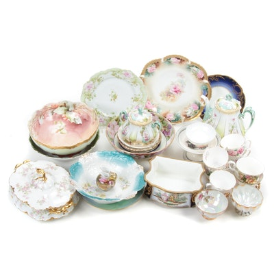 Haviland, Jean Pouyat and Other Porcelain Serveware, Early to Mid 20th C.