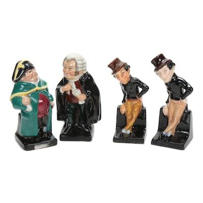 "Royal Doulton ""Jingle"", ""Bumble"" and ""Buzfuz"" Porcelain Figurines"
