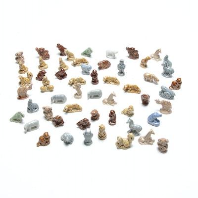Wade Porcelain Miniature Figurines for Red Rose Tea