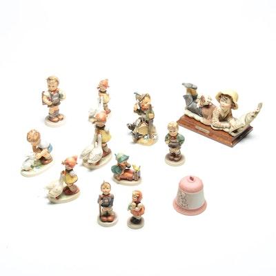 Goebel Hummel and Giuseppe Armani Capodimonte Figurines