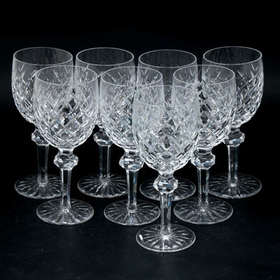 "Waterford Crystal ""Powerscourt"" Water Goblets"