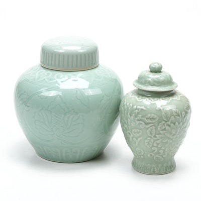 Chinese Ceramic Ginger Jars