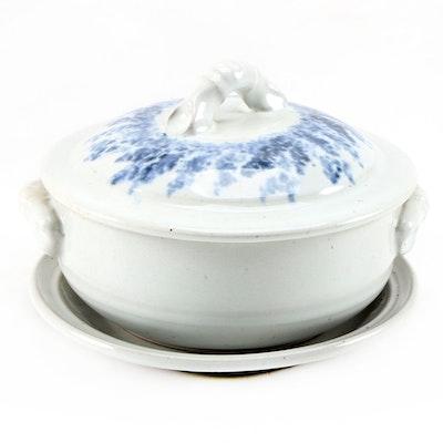 Wheel Thrown Stoneware Steamer Pot and Underplate