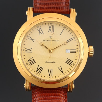 Jacques Cantani Milano Gold Tone Automatic Wristwatch