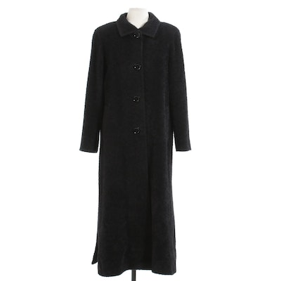 Cinzia Rocca Alpaca and Wool Blend Coat