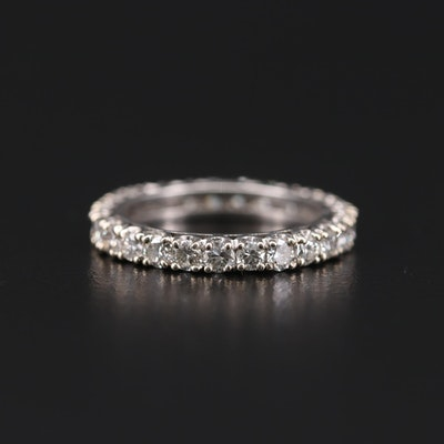 Platinum 1.75 CTW Diamond Eternity Band