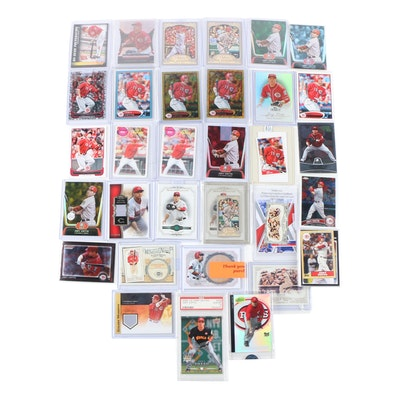 Joey Votto Cincinnati Reds Baseball Cards with PSA 10 Rookie