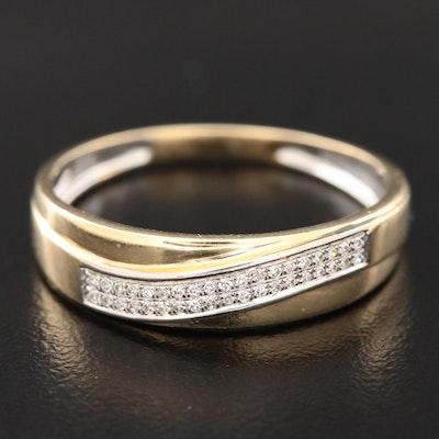 Shy Creations 14K Yellow Gold Diamond Ring