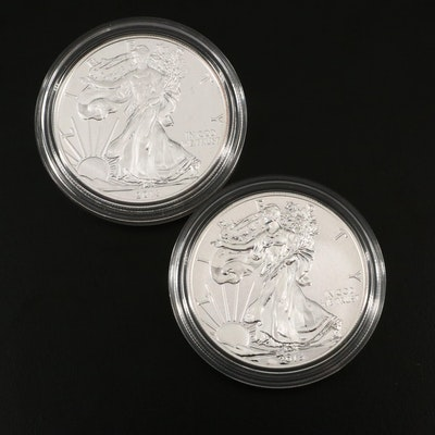2013 American Eagle West Point Silver Dollar Coin Set