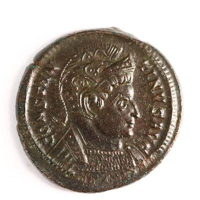 Constantine I Roman Empire Follis Bronze Coin 307-337 A.D