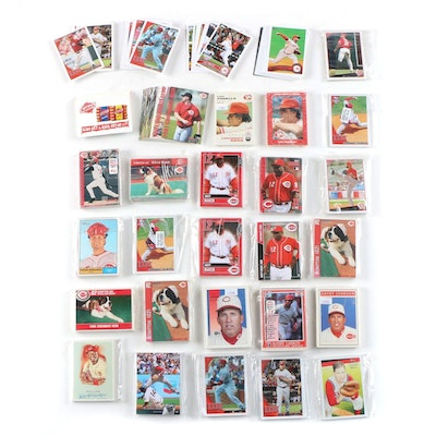 """Cincinnati Reds """"Team Sets"""" Topps and Kahn's Issues"""