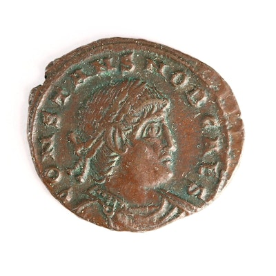 Constantine II Roman Empire Follis Bronze Coin 337-350 A.D.