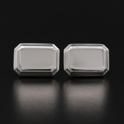 Dolan Bullock Sterling Silver Cufflinks with Box