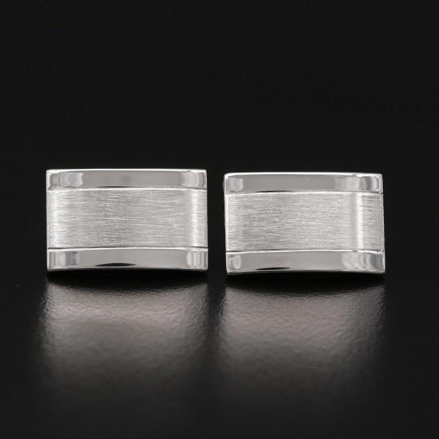 Dolan Bullock Sterling Silver Cufflinks with Box