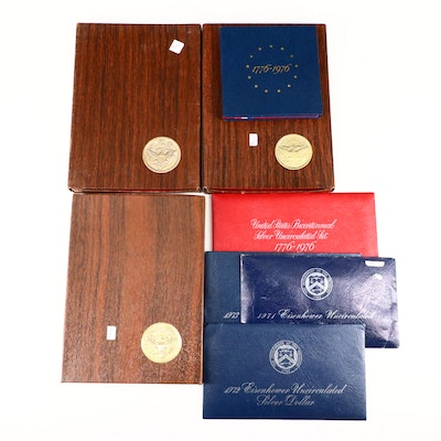 Various U.S. Mint Coins Including Proof Bicentennial Silver Sets