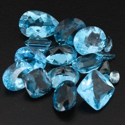 Loose 44.88 CTW Topaz Gemstones