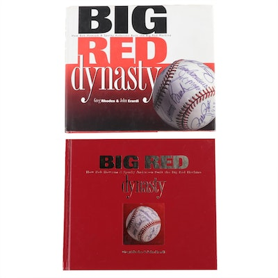 """Big Red Dynasty"" Signed Books"