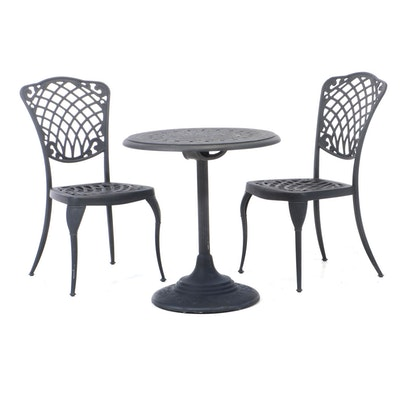 Three-Piece Outdoor Lifestyle Cast Aluminum Patio Dining Set
