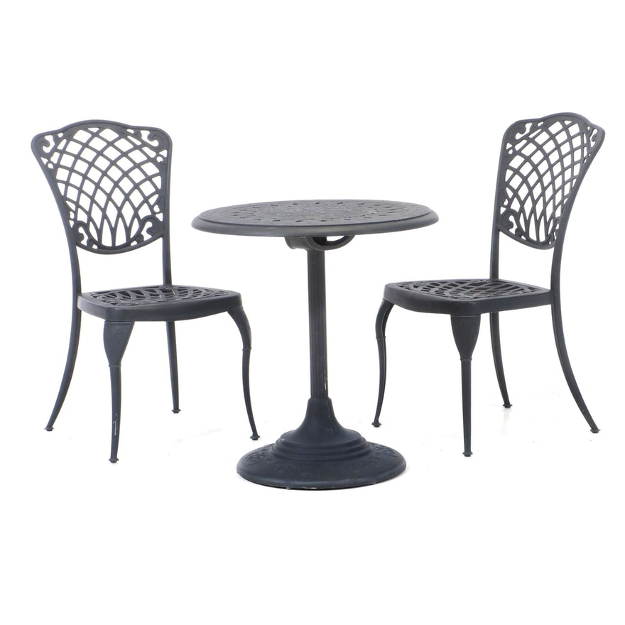 Three-Piece Outdoor Lifestyle Cast Aluminum Patio Dining Set