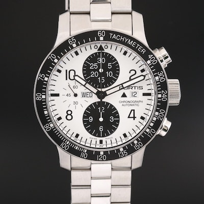 Fortis B - 42 Stratoliner Stainless Steel Automatic Chronograph Wristwatch