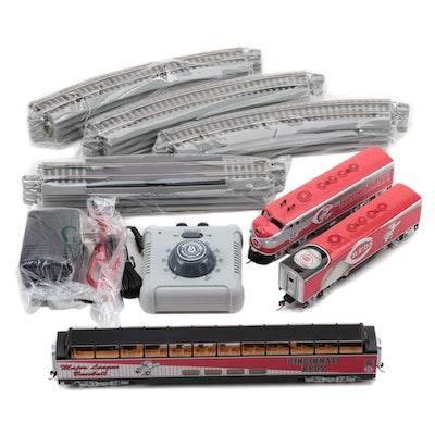 "Cincinnati Reds ""Hawthorne Village"" Trains in Original Packaging with COAs"