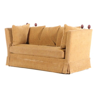 Knole Style Upholstered Sofa, Late 20th Century