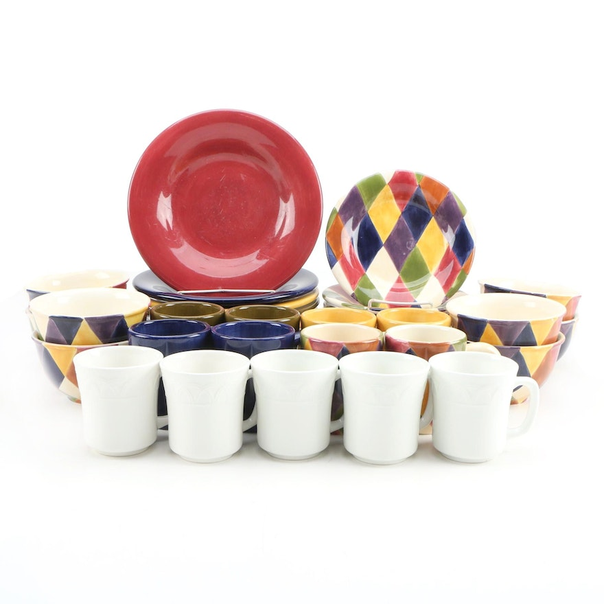 """Tabletops Unlimited """"Harlequin"""" and """"Espana"""" Dinnerware and More"""