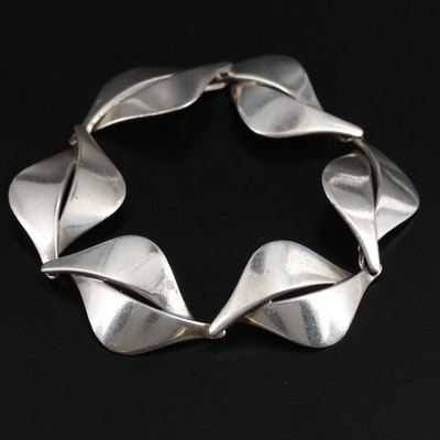 Vintage Aarre & Krogh Sterling Silver Bracelet