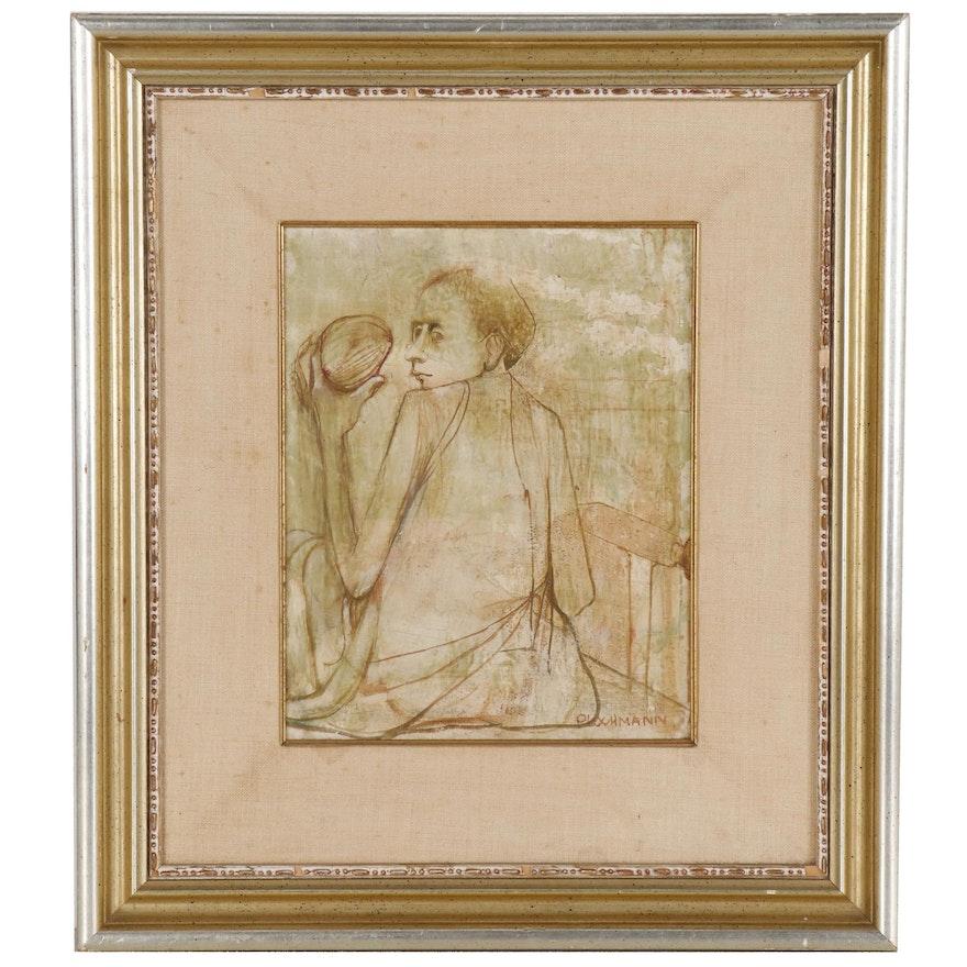 Carolyn Plochmann Figure Oil Painting