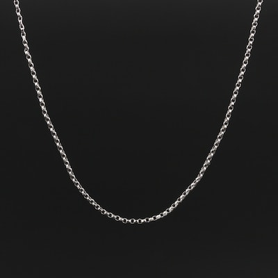 14K Rolo Chain Necklace