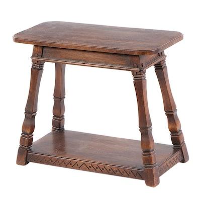 Romweber Oak End Table, circa 1950