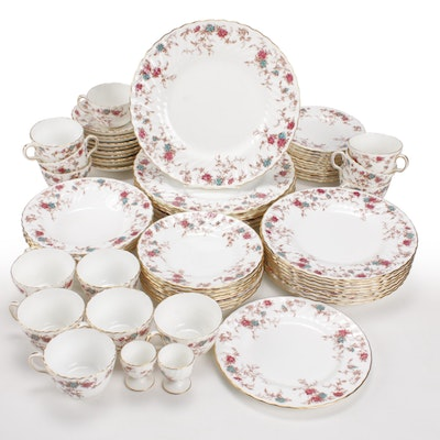 "Minton ""Ancestral"" Bone China Dinnerware, Mid to Late 20th Century"