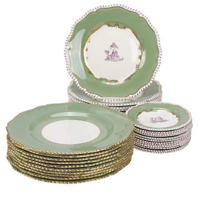 "Royal Worchester ""Pillament"" Bone China Dinnerware"