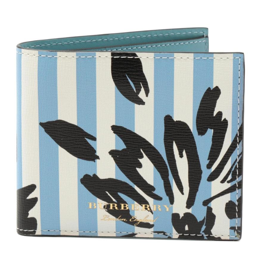 Burberry Patchwork Floral Bifold Wallet
