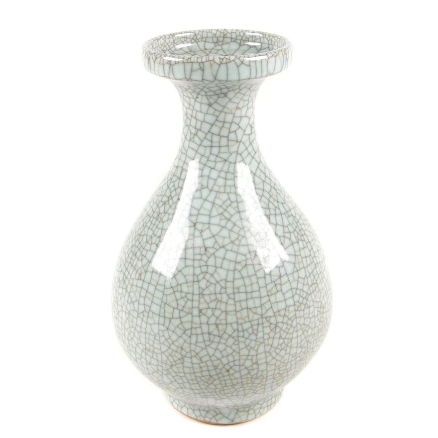 Chinese Ge Ware Porcelain Vase