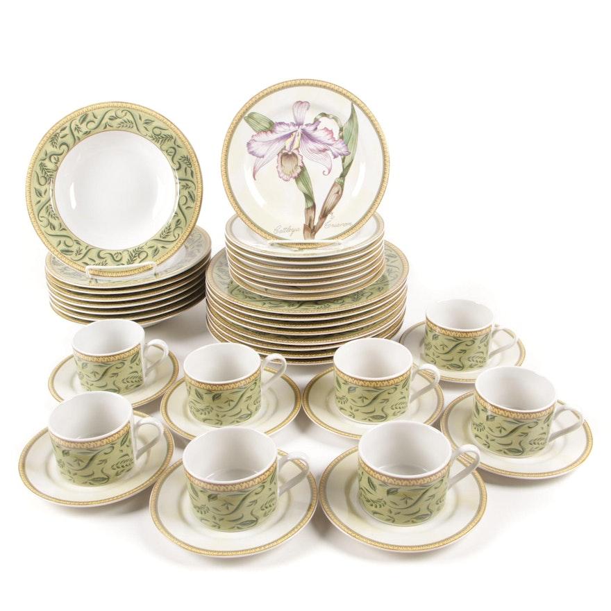 "American Atelier ""Botanical"" Stoneware Dinnerware"